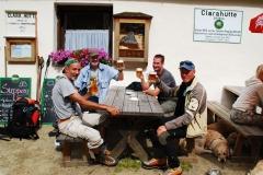 Bier auf der Clarahütte