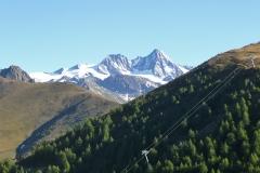 Blauspitze vor Großglockner