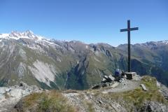 Ausnahmsweise einsam am Gipfel