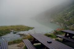 Bergersee im Nebel