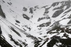 Sajatkar im Schnee