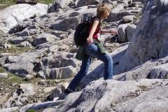 Felsstrecke zur Zopetscharte