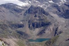 Zopetscharte - Blick zum Eissee