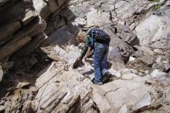 An der Zopetscharte - fast ein Klettersteig