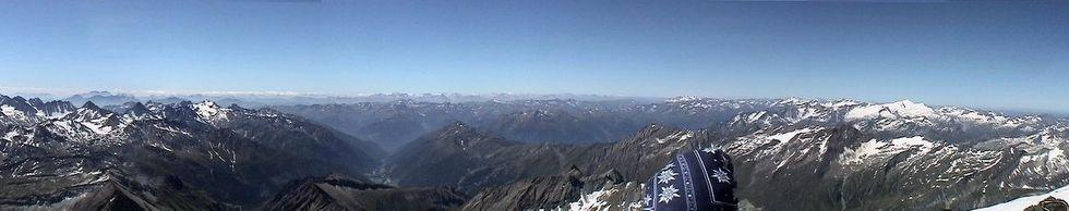 Gipfelblick Großglockner